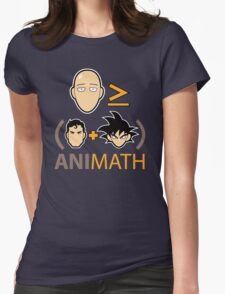 AniMath Womens Fitted T-Shirt
