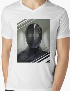 """Contrivance"" Mens V-Neck T-Shirt"