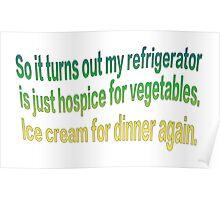Hospice Vegetables Poster