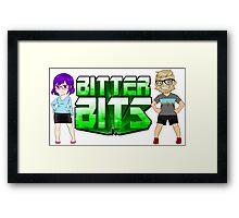 Bitter Bits Duo Framed Print