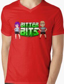 Bitter Bits Duo Mens V-Neck T-Shirt