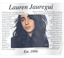 Lauren Jauregui Pastel Sky No Background Poster