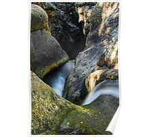 Killarney Glen waterfall  Poster