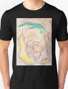 Charizard Watercolour T-Shirt