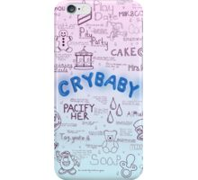 Cry Baby Original Drawing iPhone Case/Skin