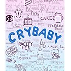 Cry Baby Original Drawing by Stephanie Storm