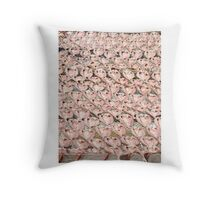 Dried fish Throw Pillow