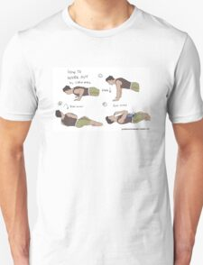 How to work out by Little Mac T-Shirt