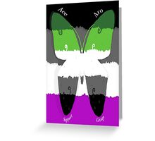 Ace-Aro-support group icon Greeting Card