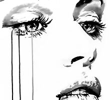 face study #16 by Loui  Jover