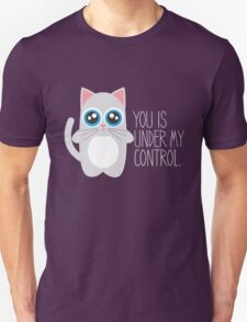Funny Hypnotic Cat  T-Shirt