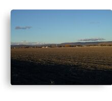 Tulelake In Late Winter Canvas Print