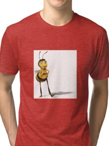 Barry the Bee-utiful Bee Tri-blend T-Shirt
