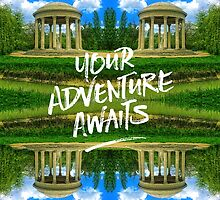 Your Adventure Awaits Temple of Love Versailles Paris by Beverly Claire Kaiya