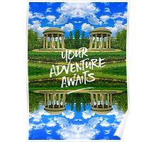 Your Adventure Awaits Temple of Love Versailles Paris Poster