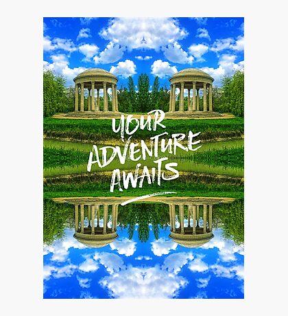 Your Adventure Awaits Temple of Love Versailles Paris Photographic Print