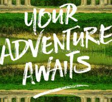 Your Adventure Awaits Temple of Love Versailles Paris Sticker