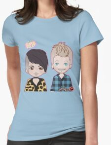 Sup3erFruit Cartoon Redesign Womens Fitted T-Shirt