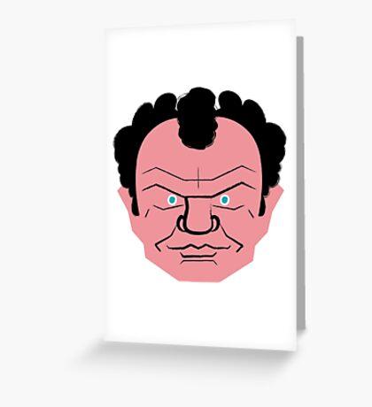 john c. reilly Greeting Card