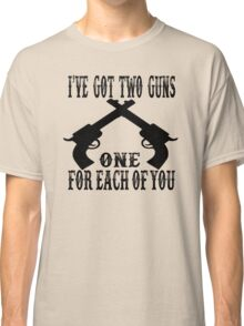 Tombstone Quote Classic T-Shirt