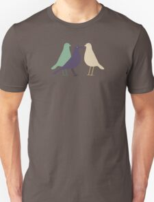 Trio of Birds Unisex T-Shirt