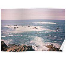 California's Pacific Ocean Poster