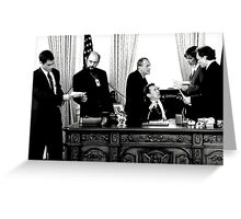 West Wing Greeting Card