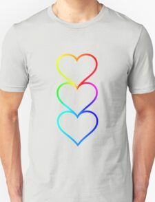 LOVE HEARTS X3 T-Shirt