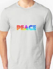 PEACE TEXT T-Shirt
