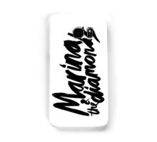 M Logo Black Samsung Galaxy Case/Skin
