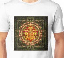 Shri Yantra- Maha Lakshmi Ashtakam- Abundance Unisex T-Shirt