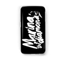 M Logo White Samsung Galaxy Case/Skin
