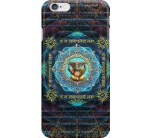 Ganesha - Removes obstacles - Om Gam Ganapataye Namah iPhone Case/Skin