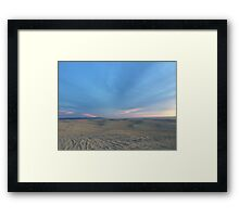 Endless Dunes Framed Print