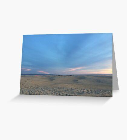 Endless Dunes Greeting Card