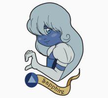 Steven Universe - Sapphire Baby Tee