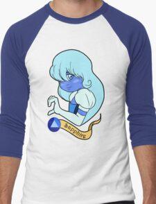 Steven Universe - Sapphire Men's Baseball ¾ T-Shirt