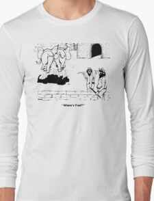 Zoo Humour - Cartoon 0001 Long Sleeve T-Shirt
