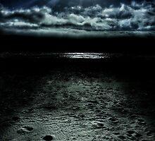 Manhattan Beach Dark by Steve Burch