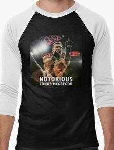 Notorious McGregor Fingers UFC194 Men's Baseball ¾ T-Shirt
