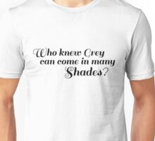 50 SHADES OF GREY - SHADES Unisex T-Shirt