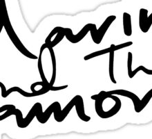 M Logo II  Sticker