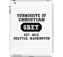 50 SHADES OF GREY - SUBMISSIVE iPad Case/Skin