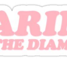 M Logo III Pink Sticker