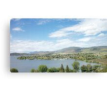Klamath Falls In Summertime Canvas Print