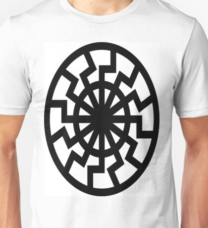The Black Sun Unisex T-Shirt