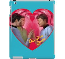 Spock, Kirk and Bones iPad Case/Skin
