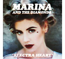 ELECTRA HEART Photographic Print