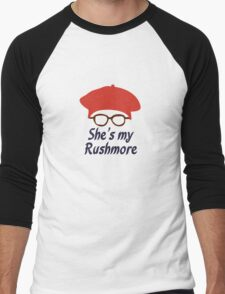 Rushmore is Max Men's Baseball ¾ T-Shirt