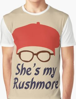 Rushmore is Max Graphic T-Shirt